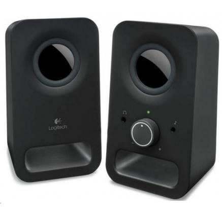 Logitech Multimedia Speakers 2.0 Z150 Midnight Black