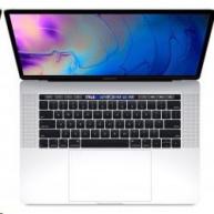 "Apple MacBook Pro 15"" Touch Bar/6-core i7 2.6GHz/16GB/256GB SSD/Radeon Pro 555X w 4GB/Space Grey"