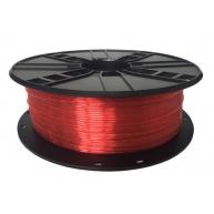 GEMBIRD Tisková struna (filament) PETG, 1,75mm, 1kg, červená