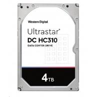 Western Digital Ultrastar® HDD 4TB (HUS726T4TAL5204) DC HC310 3.5in 26.1MM 256MB 7200RPM SAS 512E SE P3 (GOLD SAS)