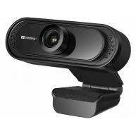 Sandberg USB kamera Webcam Saver 1080p, černá