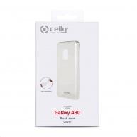 Celly zadní kryt Gelskin pro Samsung Galaxy A30, transparentní