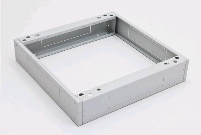 TRITON Podstavec 600x1000 s filtrem 1x pro RDA, šedý