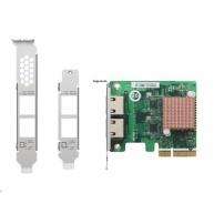 QNAP QXG-2G2T-I225 Síťová rozšiřující karta sítě 2,5 GbE se dvěma porty RJ-45