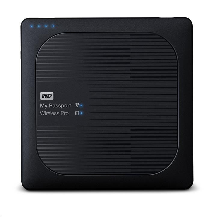 "WD My Passport Wireless PRO 2TB Ext. 2.5"" USB3.0, Black"