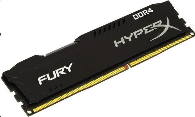 DIMM DDR4 4GB 2666MHz CL15 KINGSTON HyperX FURY Black