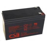 CSB 12V 7,2Ah olověný akumulátor F2 (GP1272F2)
