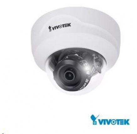 Vivotek FD8169A, 2Mpix,30sn/s, obj. 2.8mm (105°), PoE, IR-Cut, Smart IR,SNV,MicroSDXC,defog 3DNR, koridor form., vnitřní
