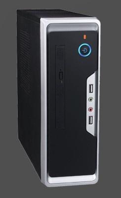 EUROCASE skříň mini ITX Wi-01, USB, AU, TFX, bez zdroje