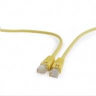 GEMBIRD Kabel UTP Cat5e Patch 0,5m, žlutý