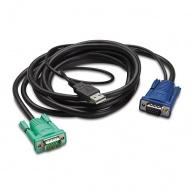 APC Integrated LCD KVM USB CABLE - 6 ft (1.8m)