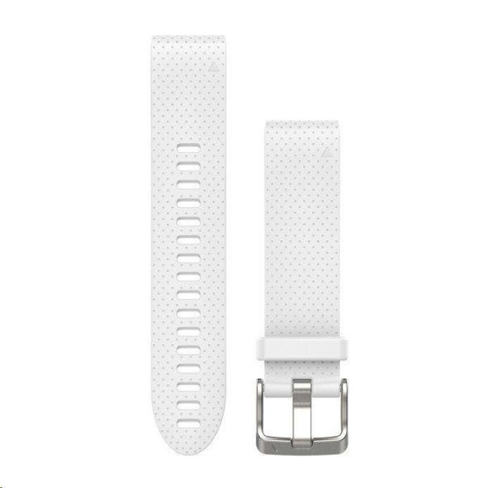 Garmin řemínek pro fenix5S - QuickFit 20, bílý