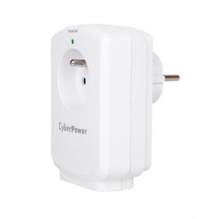 CyberPower Surge Buster™ 1 zásuvka, bílá
