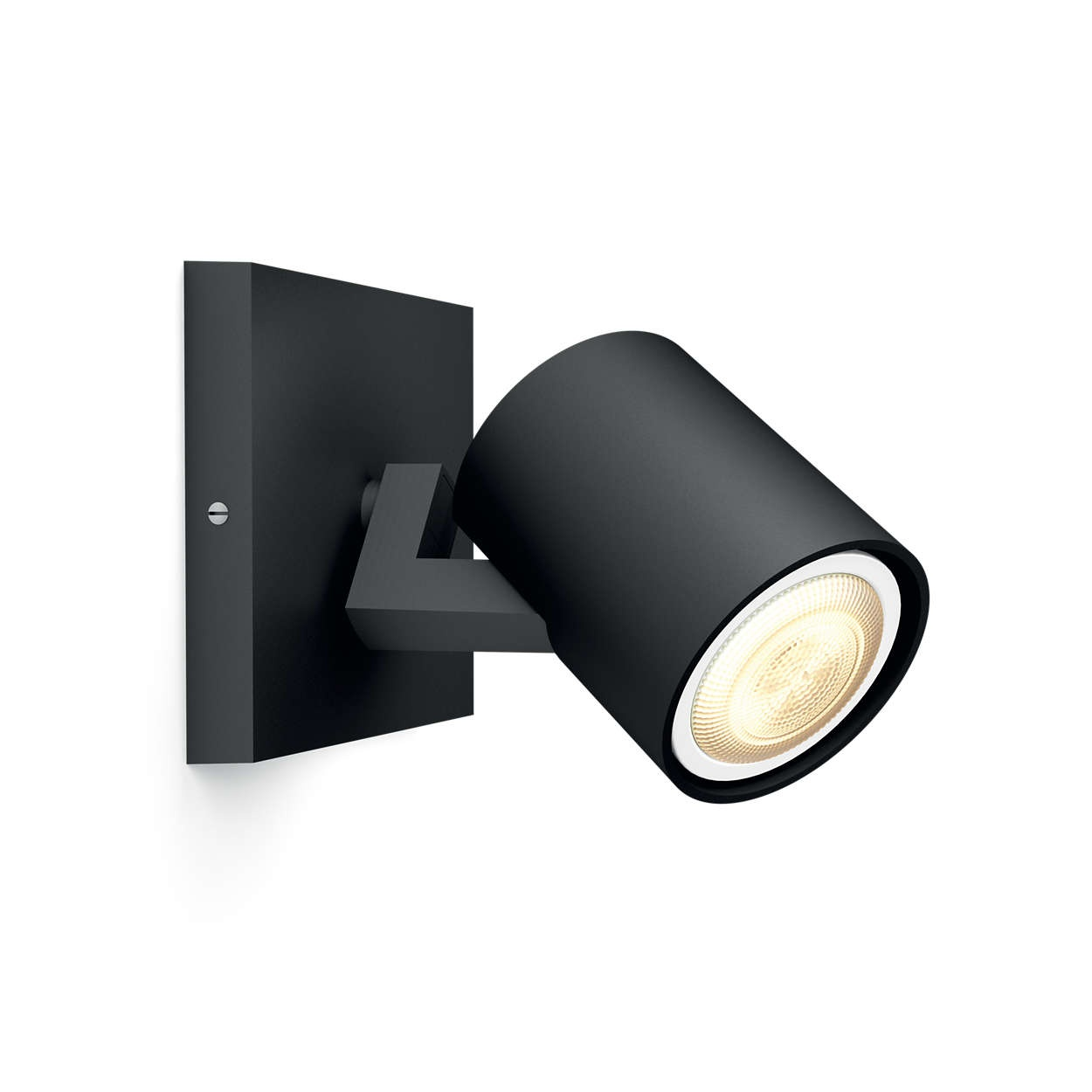 PHILIPS Runner Jednobodové svítidlo, Hue White ambiance, 230V, 1x5.5W GU10, Černá, rozšíření