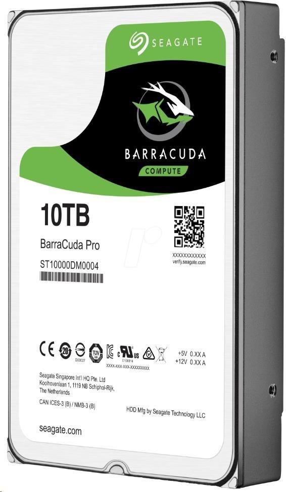 SEAGATE HDD BARRACUDA PRO 10TB SATAIII/600 7200RPM, 256MB cache