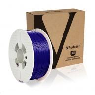 VERBATIM 3D Printer Filament PLA 1.75mm, 335m, 1kg blue (OLD PN 55269)
