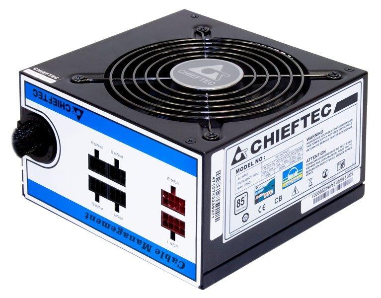 CHIEFTEC zdroj A80 Series, CTG-650C, 650W, 12cm fan, Active PFC, Modular, Retail, 85+