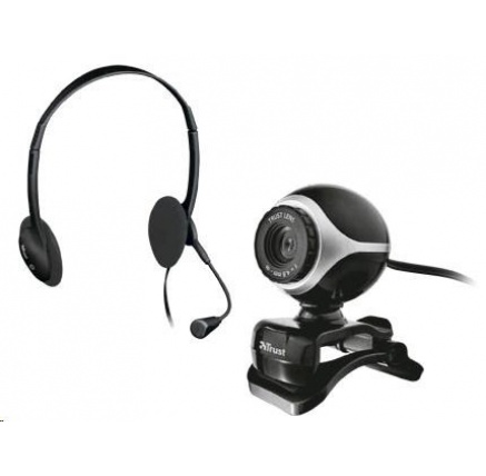 TRUST Komunikační sada Exis Chatpack (webkamera, sluchátka s mikrofonem)