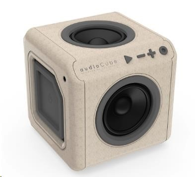 Allocacoc Cudiocube Portable Wood edition
