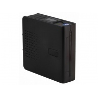 EUROCASE skříň mini ITX WP-01, Vesa, DC/DC 90W, AC/DC Seasonic 60W, Black