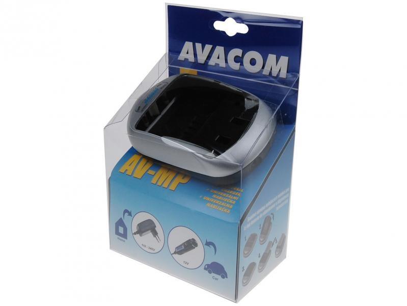 AVACOM AV-MP univerzální nabíjecí souprava pro foto a video akumulátory - blistrové balení