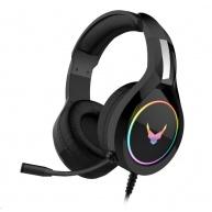 OMEGA herní sluchátka VARR RGB Gaming Headset, Platinet SA, USB, black/černá