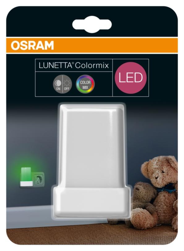 OSRAM LED svítidlo  LUNETTA Shine RGB White
