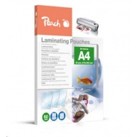 Peach Laminating Pouch A4 (216x303mm), 60mic, PPR060-02
