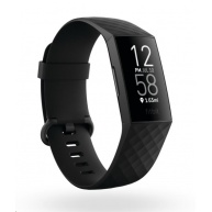 Fitbit Charge 4 (NFC) w integrated GPS & FitbitPay - Black/Black