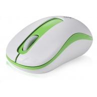 RAPOO myš M10 USB, optická, bezdrátová, 2.4G, zelená