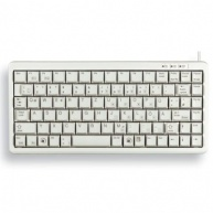 CHERRY klávesnice G84-4100 / lehká / mini/ drátová / USB 2.0 / bílá / EU layout