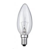 TECHLAMP Žárovka svíčková E14 240V 40W čirá pro prům. použití