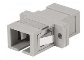 Intellinet optická spojka SC-SC, multimode simplex, šedá