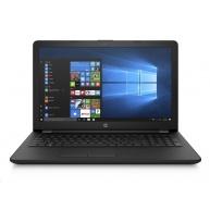 """HP NTB Laptop 15-bs160nc, 15.6"""", SVA AG HD, i3-5005U dual, 4GB DDR3L,128GB SSD,Intel HD Graphics,DVD-RW,WIN 10 - black"""