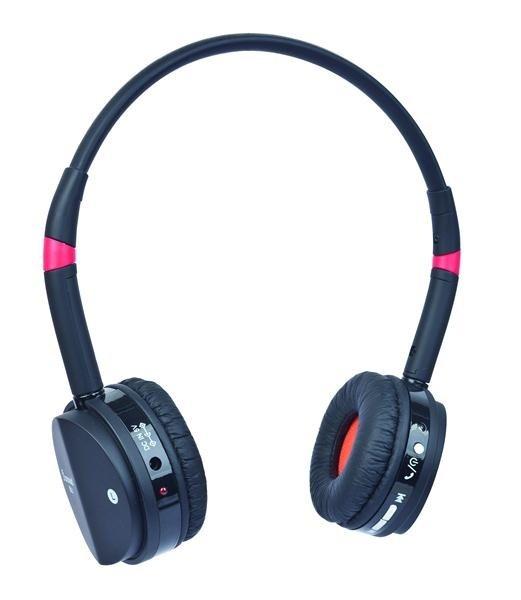 GEMBIRD sluchátka s mikrofonem BHP-001 Bluetooth, černo-červená