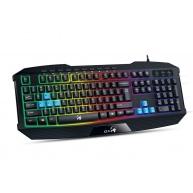 GENIUS klávesnice GX GAMING K-215 / herní, drátová, podsvícená/ USB/ černá/ CZ+SK layout