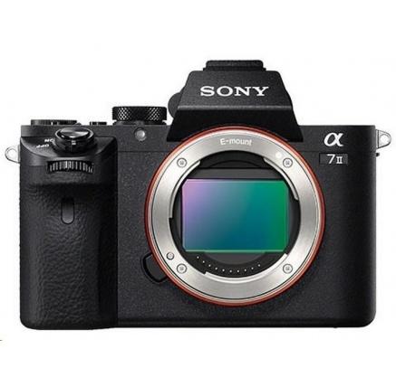 SONY Alfa 7 II fotoaparát, 24.3MPix - tělo