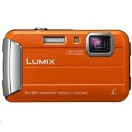 "Panasonic DMC-FT30EP-D orange (16 Mpx, 4x zoom, 2.7"" LCD, HD video, odolný)"