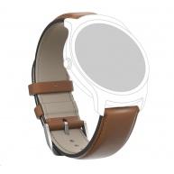 Ticwatch kožený řemínek (hnědá)