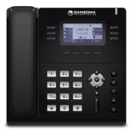 """Sangoma IP telefon S405, 3x SIP, 1000 Mbps, PoE, 2,7"""" displej"""