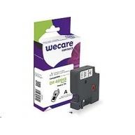 WECARE ARMOR páska pro DYMO S0720680, černá/bílá, 9mm x 7m