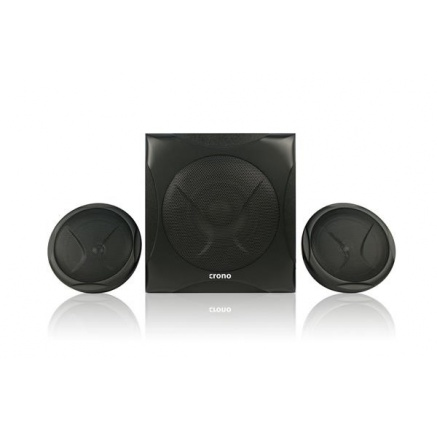 Crono CS-2105 Bluetooth reproduktory 2.1, 40W, černé, dálkové ovládání