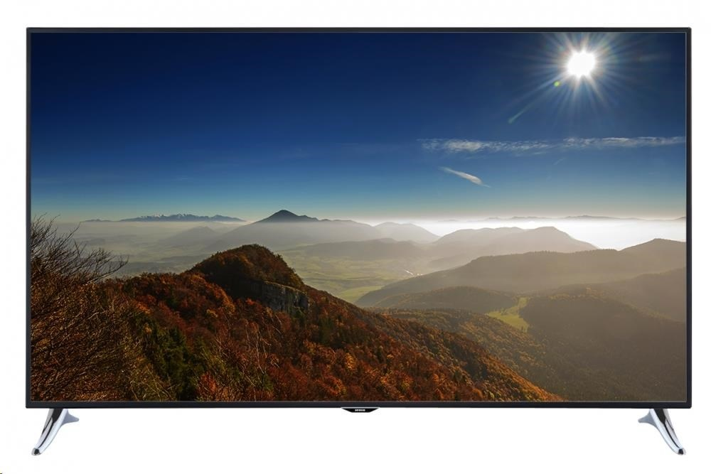 "ORAVA LT-1653 LED TV, 65"" 165cm, UHD 3840x2160, DVB-T/T2/C/S2, PVR ready, WiFi"
