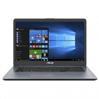"ASUS NB Vivobook 17  - Pentium N5000,17.3"" TN HD+ 1600×900,4GB DDR4,UHD Graphics,256SSD,W10H"