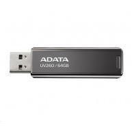 ADATA Flash Disk 16GB UV260, USB 3.2 Gen1,  Kovový ,černá