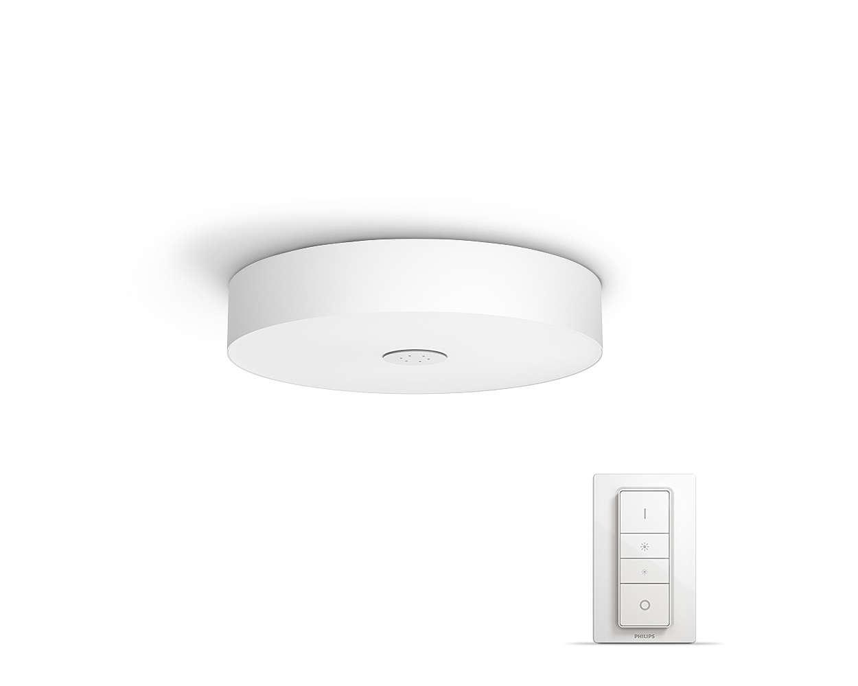 PHILIPS Fair Stropní svítidlo, Hue White ambiance, 230V, 1x39W integ.LED, Bílá