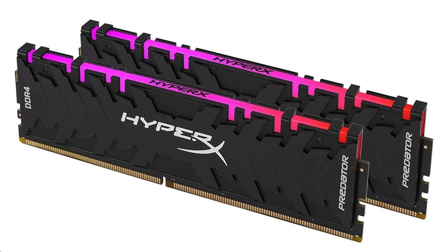 DIMM DDR4 16GB 3000MHz CL15 (Kit of 2) XMP KINGSTON HyperX Predator RGB