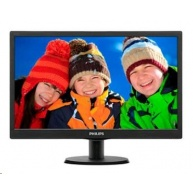 "Philips MT LED 18,5"" 193V5LSB2/10 - 1366x768, 200cd/m, 10mil:1, 5ms, D-Sub, VESA"