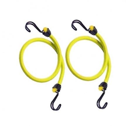 Master Lock 3022EURDAT Set 2 ks upínací gumy s háčky - 100 cm