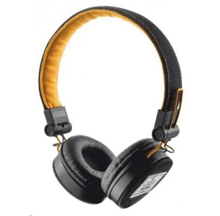 TRUST Sluchátka Fyber Headphone - black/orange